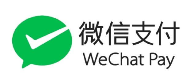 WeChatPay 使えます!