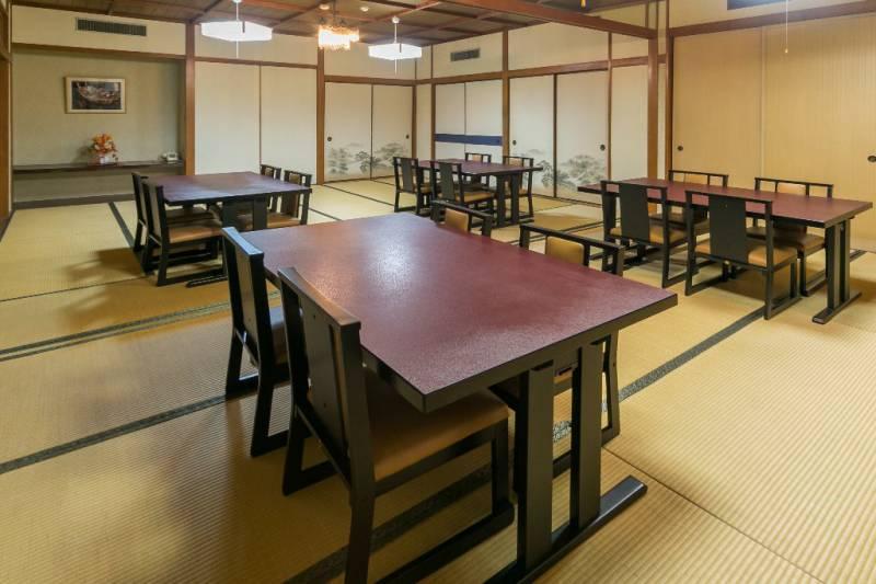 竹の間 約21畳 リバーサイドホテル松栄