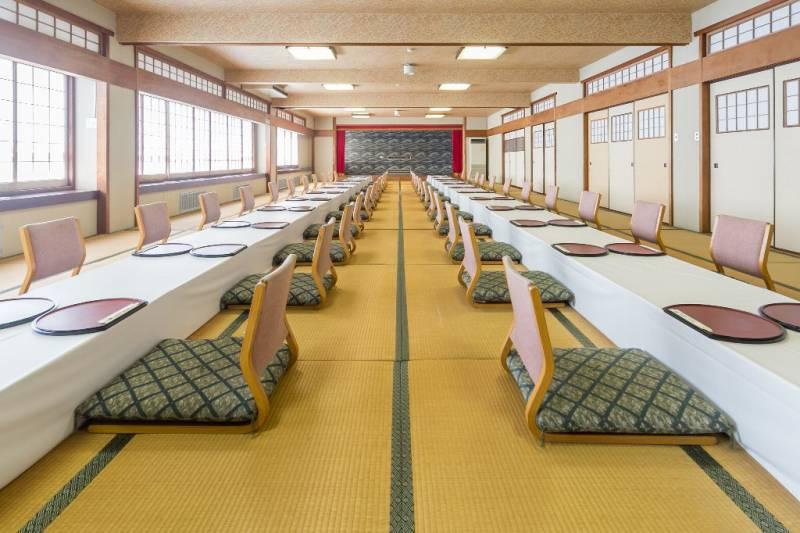 千寿の間 約80畳 松栄第二別館